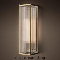 新品★ LED ウォールランプ 長方形 ガラスシェード ダイニング リビング キッチン 寝室 北欧モダン h01727