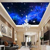 3D 壁紙 1ピース 1㎡ 夜空 輝く星 宇宙 プラネタリウム 天井用 インテリア 装飾 寝室 リビング 耐水 防湿 h02670