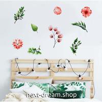 【ウォールステッカー】壁紙 DIY 部屋 装飾 寝室 リビング インテリア 50×70cm 植物 花 イラスト m02268