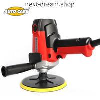 電動カーポリッシャー 900W 2000R   洗車 洗浄 ワックスがけ 軽量コンパクト 洗車用品 新品送料込 m00389