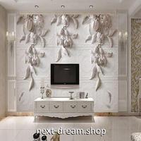 3D 壁紙 1ピース 1㎡ ヨーロッパ 彫刻デザイン 花 インテリア 部屋 寝室 リビング 防湿 防音 h03012
