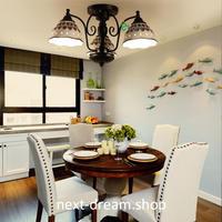 シーリングライト 照明 3灯 LED ガラス 柄物 ダイニング リビング キッチン 寝室 北欧モダン h01633