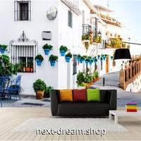 3D 壁紙 1ピース 1㎡ 外国風景 白い壁 ヨーロッパ 写真 寝室 リビング 客室 m03339