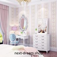 3D 壁紙 53×1000㎝ 花柄 ストライプ DIY 不織布 カビ対策 防湿 防水 吸音 インテリア 寝室 リビング h02026