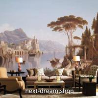 3D 壁紙 1ピース 1㎡ 自然風景 ヨーロッパの景色 湖 インテリア 部屋装飾 耐水 防湿 防音 h02926