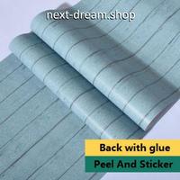壁紙 60×500cm ウッドボード 木板 青 ブルー DIY リフォーム インテリア 部屋/キッチン/家具にも 防水PVC h04054