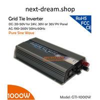 グリッドタイ・インバータ 1000W  20-50V DC - AC 220/230V  純正弦波 新品送料込 m00224