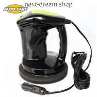 電動カーポリッシャー 12V ミニサイズ  洗車 洗浄 ワックスがけ 軽量コンパクト 新品送料込 m00393