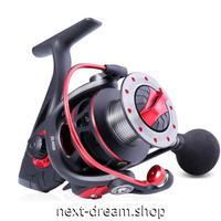 新品 スピニングリール 釣り道具 フィッシング 左右交換ハンドル 黒×赤 1000 / 2000 / 3000 / 4000番 m02020