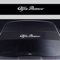アルファロメオ ステッカー 窓 ウィンドル シール Alfa Romeo h00457