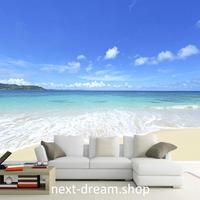 3D 壁紙 1ピース 1㎡ 海 ビーチ 自然風景 防カビ 耐水 おしゃれ クロス インテリア 装飾 寝室 リビング h01808