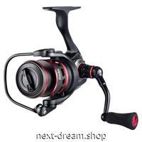 新品 スピニングリール 釣り道具 フィッシング カーボンファイバー 高性能ベアリング 黒×赤 2000 / 4000 / 5000番 m01943