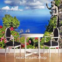 3D 壁紙 1ピース 1㎡ 自然風景 海 ガーデン 彫刻 ヨーロッパ インテリア 装飾 寝室 リビング h02191