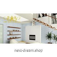 ウォールステッカー 3D壁紙 60×60cm 立体レンガ ホワイト 防水 家具リフォーム キッチン・お風呂・古いドアにも m02746