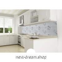 ウォールステッカー 壁紙 60cm×5m 防水 防油 ストライプ グレー 家具リフォーム キッチン・浴室・古いドアに m02705