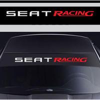 車 ステッカー 窓 ウィンドル シール カースタイリング SEAR RACING フロントガラス h00458