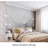 壁紙 8D素材 幾何学 六角形 立体 1ピース 1㎡ サイズカスタマイズ可能 部屋 リビング ショップ 店舗 m06125