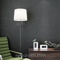 3D 壁紙 53×1000㎝ モダン シンプル 無地 DIY 不織布 カビ対策 防湿 防水 吸音 インテリア 寝室 リビング h02078