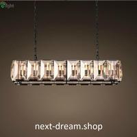 新品 ペンダントライト 照明 LED クリスタル 62×35cm ダイニング リビング キッチン 寝室 アメリカンレトロ h01684