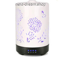 加湿器 空気清浄機 セラミック アロマ 光る  乾燥・肌荒れ・風邪・花粉症予防  オフィス インテリア  m01338