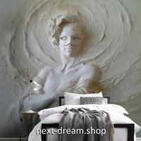 3D 壁紙 1ピース 1㎡ 立体アート 彫刻 仮面 インテリア 部屋 寝室 リビング 防湿 防音 h03024