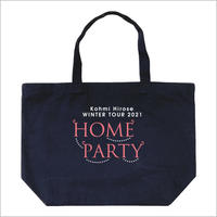 """HOME PARTY""トートバッグ / ネイビー"