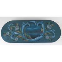 グップランスダールのスタイルで描かれた楕円ボックス