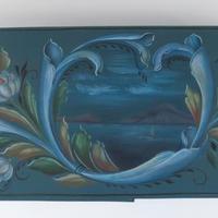 作品 グップランスダールのスタイルで描かれた楕円ボックス