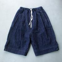 オーバーショーツ/ INDIGO BLUE