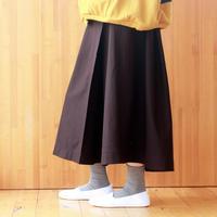ジャージラップスカート / darkbrown