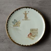 指揮者ネコとファルファッレの小皿