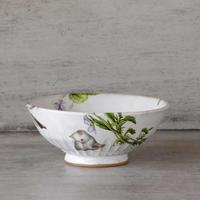 野花と子猫のお茶碗-2