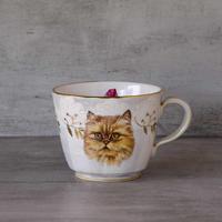 ペルシャ猫マグカップ