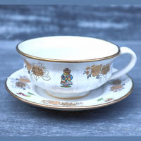 King's cup&saucer