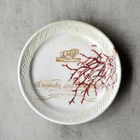 ライオンと珊瑚のお皿