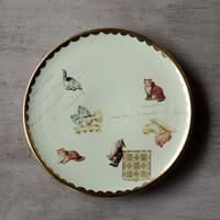 猫とファルファッレのお皿 - 3