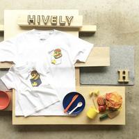BURGER  Tシャツ ホワイトPK   LADYS/MENS