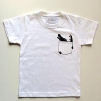 CROCODILELADYS/MENSTシャツ White