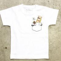 HOT DOG  Tシャツ ホワイトPK  LADYS/MENS