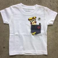 PIZZA KIDS Tシャツ デニムPK