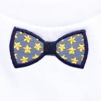 RIBON YELLOW STAR TシャツWHITE