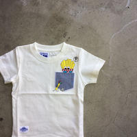 LEE×stompstamp×HIVELYコラボTシャツ ポテト