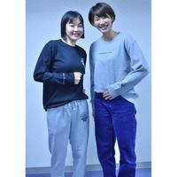 スウェットパンツ produced by Yuki&Yuka