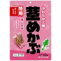 三陸産茎めかぶ梅しそ味ボーナスパック 120g×10入