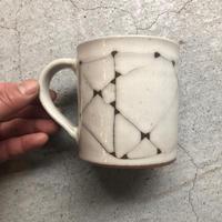 山本佳靖(国造焼) マグカップ 線文