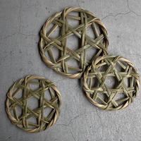 FACTORY JIN&POKO  青竹鍋敷き M