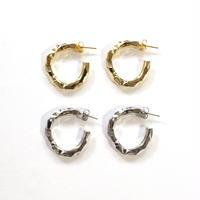 Hard Gold Hoop pierce