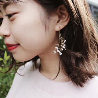 Pearl branch pierce(earing)