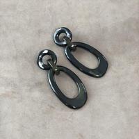 Black Marble pierce(earing)