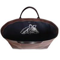 SHIB 酒袋鞄 L-39  旗「岩手花巻県下馬力大会」 / HANTEN - Livery coat「Horsepower Tournament」